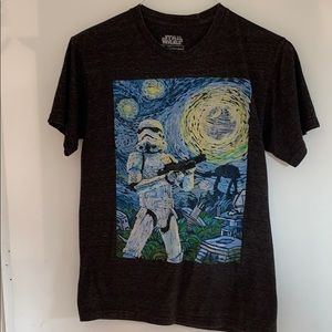 Star Wars Storm Trooper on Endor T-shirt. Small